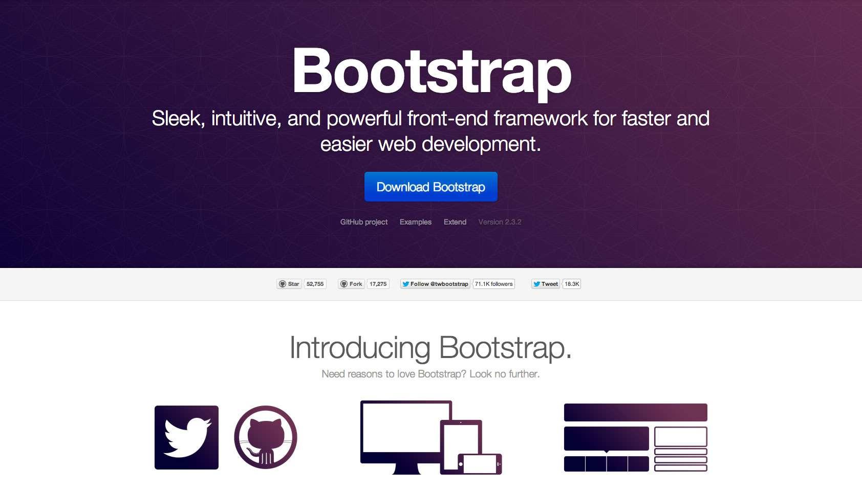 响应式网站建设不用Bootstrap的几点原因