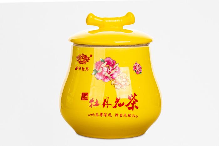 牡丹花茶产品摄影
